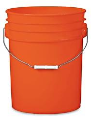 Orange pail