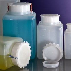 square lab bottles
