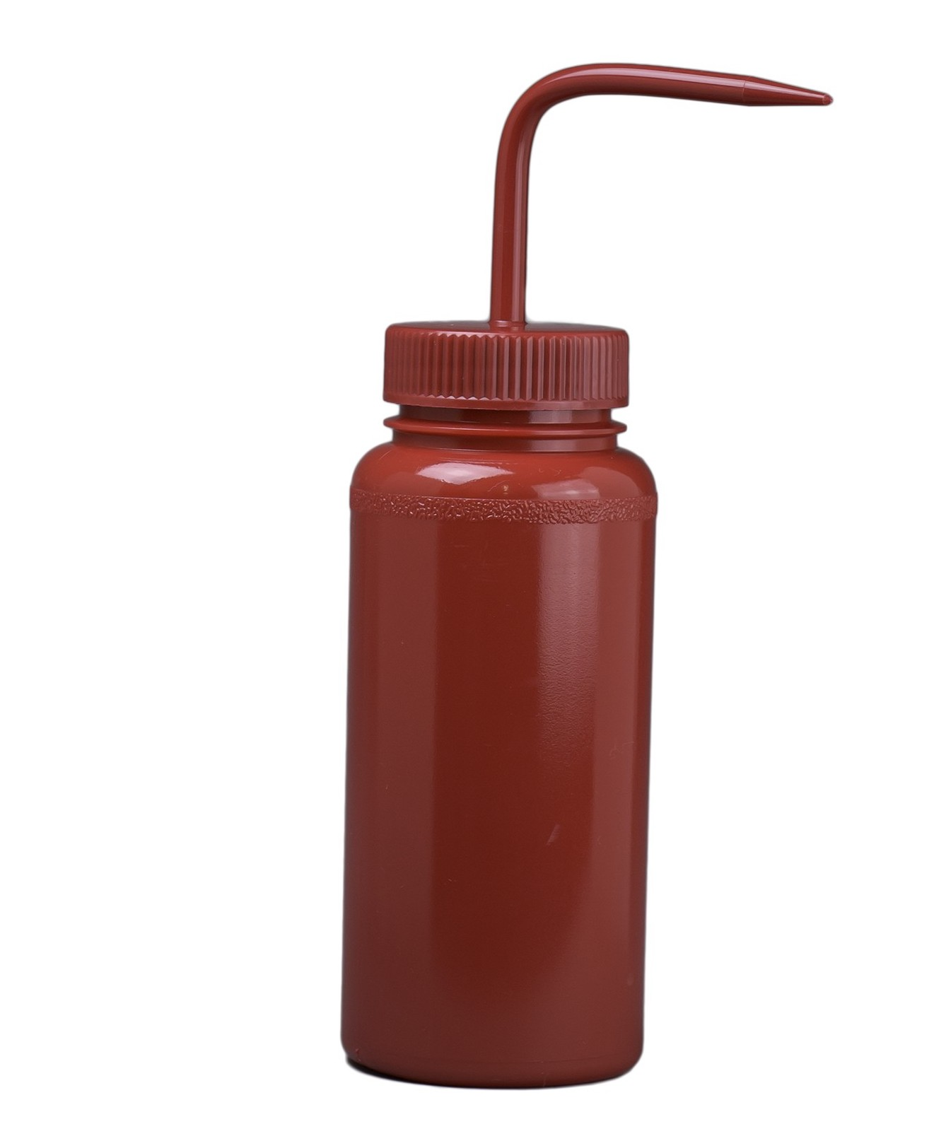 red wash bottle