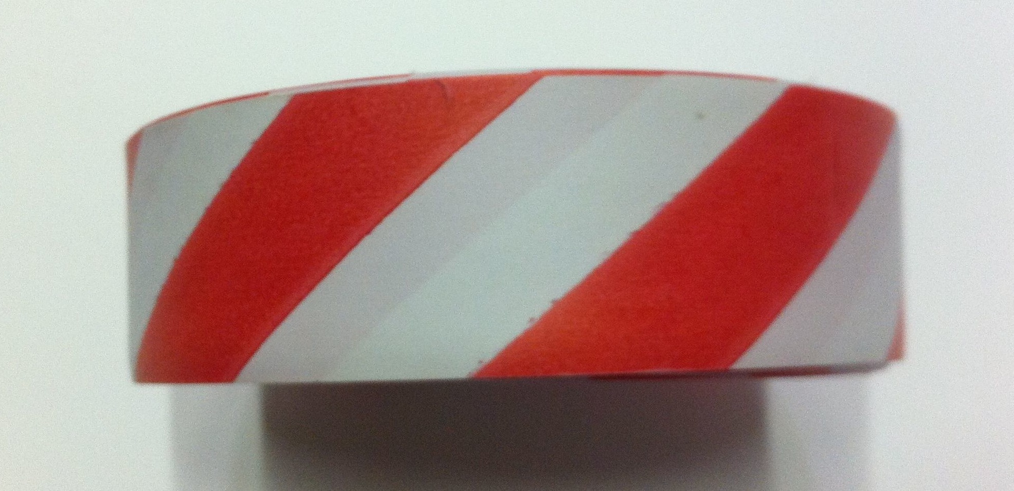 striped flagging tape